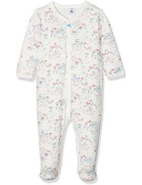 Petit Bateau Baby-Mädchen Schlafstrampler