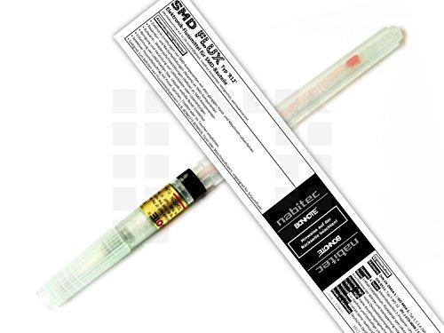 Flussmittelstift Original BONKOTE BONPEN BON-102 + Füllung: Elektronik-Flussmittel nabitec SMD-Flux 'R12' 8ml