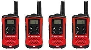 Motorola - Radio Interphone Moto TLKR Extreme T40 PMR446 Sans Licence 2 Voies x 4