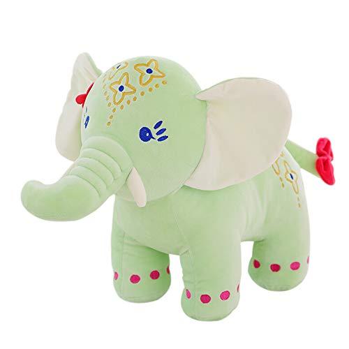 Juguete de peluche lindo creativo, muñeca de peluche juguetes de peluche Muñecas de peluche Muñeca volador Regalo de cumpleaños para niños Juguete de peluche verde claro Pequeño elefante volador 45cm