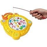 Popsugar - THFS362Y Fishing Game Set, Yellow