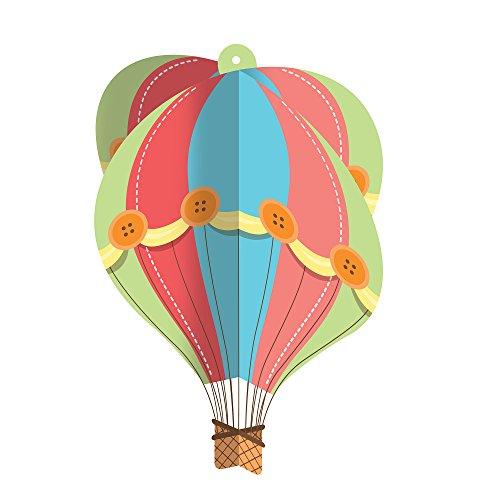 onverting Up, Up & Away Hängender Kronleuchter Heißluftballon ()