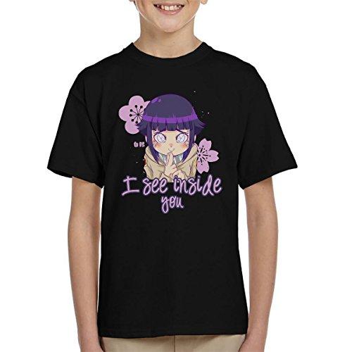 Naruto Hinata I See Inside You Kid's T-Shirt (Jump Programm)
