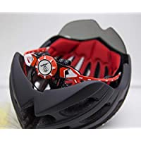 JAVA Bicycle helmet bike 049 BLACK with sunglass