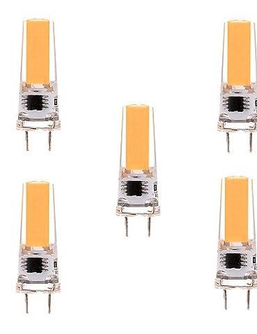 SDYJQ YWXLIGHT 5pcs 5W Dimmable LED G8 Bi-pin de la lumière T 1 S/N 400-500 lm blanc froid / Blanc Chaud AC 220-240 / 110-130 V AC 220v blanc chaud ,