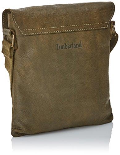 Borsa A Tracolla Uomo Timberland Tb0m5052, 1x30x26 Cm Verde (kaki)