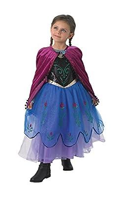Disfraz Anna Deluxe Frozen - completamente descaradamente de Rubies