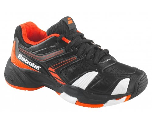 BABOLAT Drive 3 Scarpa da Tennis Junior Nero/Arancione