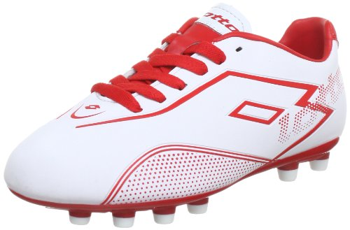 lotto-sport-lotto-zhgravii-700fg-jr-football-shoes-boys-white-weiss-white-risk-red-size-5-uk-38-eu