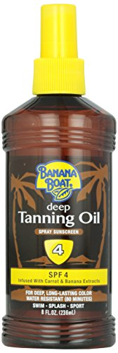 Banana Boat 237 ml Dark Tan Oil SPF#4 Pump (Sonnencreme)