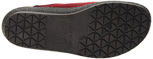 Rohde Emden, Chaussons Mules Femme Rouge (43 Medoc)