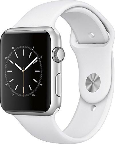 Apple Watch Series 1 42mm Smart Watch (Silver Aluminum Case,...
