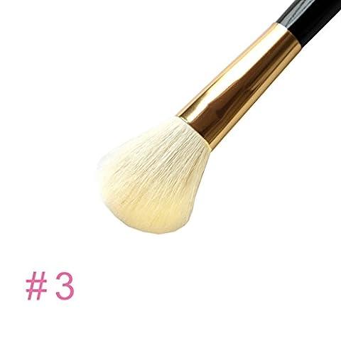 Blush Bronzer Brush 1pc Pro brosse cosmétiques Fondation de poudre d