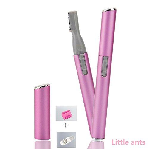 Elektrische Tragbare Augenbraue Rasierer Trimmer Lady Augenbrauen-Rasierer Messer perfekt für Körper Haar Entferner (Lovely Pink) - Körper-haar-entferner