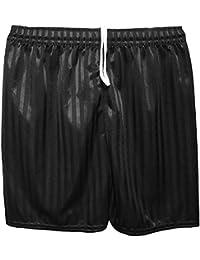 MyShoeStore Unisex PE Shorts Boys Girls Kids Children Adults Back to School Uniform Shadow Stripe Sports Gym Football Games P.E. Pull up Short