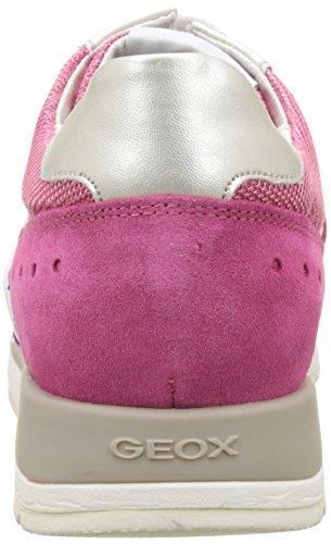 Geox D Shahira A, Sneakers Basses Femme Rose (PINK/DK VIOLETCE88K)