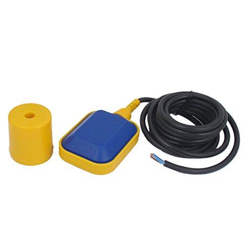 uxcell 4m Kabel Wasser Liquid Level Schwimmerschalter Sensor Ölwanne Fluid Controller