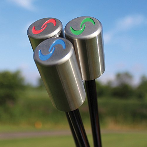 SuperSpeed Golf Herren Golf Swing Training System 3-teiliges Club-Set Super Speed (Club Golf-training)