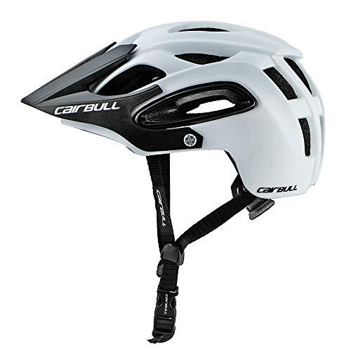 Lixada Seguridad Transpirable Integral-Moldeado Ultralight Casco Profesional MTB Bicicleta Casco (Blanco, M)