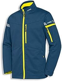 uvex Safety metal 8939 Leichte Arbeitsjacke, 60% Baumwolle, Sicherheitsjacke für Herren und Damen, auch als Freizeitjacke verwendbar, mit Reflektoren