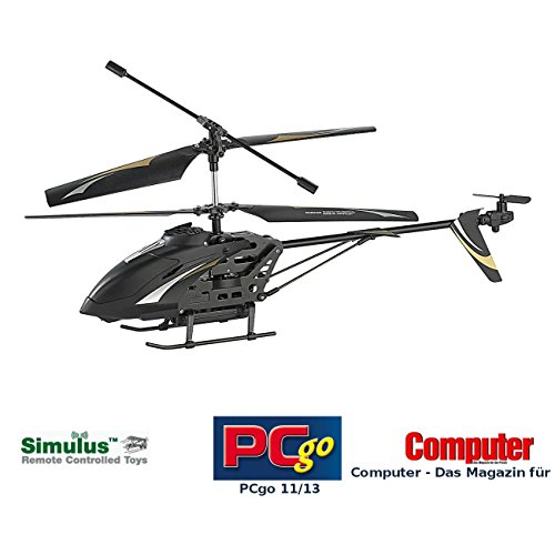 *Simulus 3,5-Kanal-Hubschrauber mit HD-Kamera*