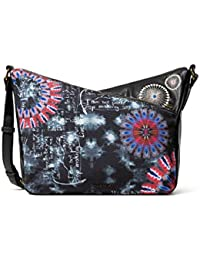 Desigual Accessories Fabric Across Body Bag, Bolsa para Cuerpo Mujer, U