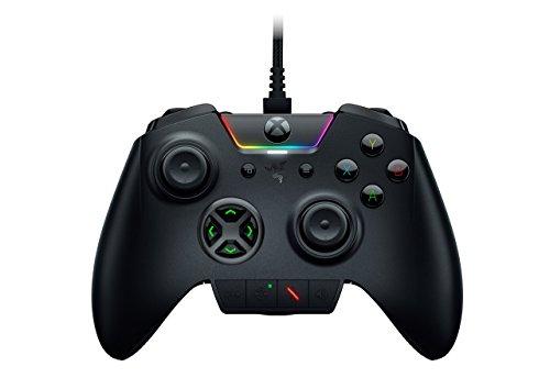 Razer Wolverine-Individuell Anpassbar Gamepad Controller-austauschbar Analog Sticks & Richtungstasten-Kompatibel mit Xbox One, PC (Zertifiziert aufgearbeitet)