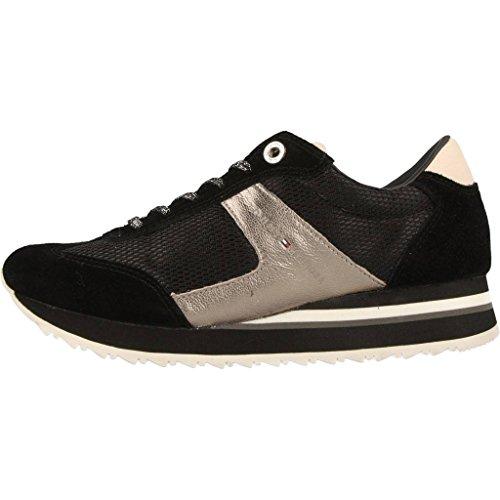 Sport scarpe per le donne, colore Nero , marca TOMMY HILFIGER, modello Sport Scarpe Per Le Donne TOMMY HILFIGER ANGEL 1C2 Nero Nero