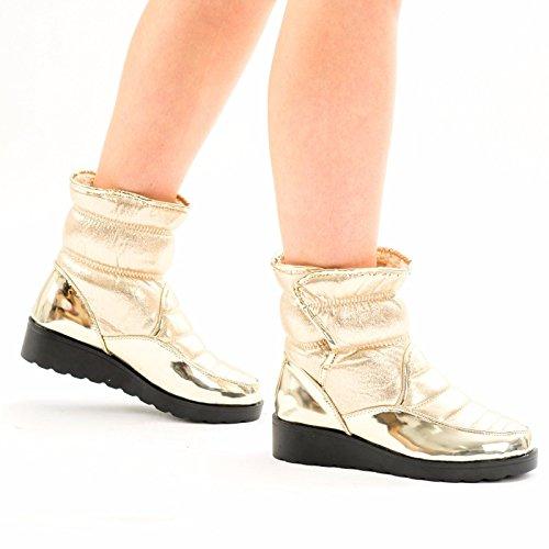 my-carling-botas-de-nieve-chica-mujer-color-dorado-talla-355