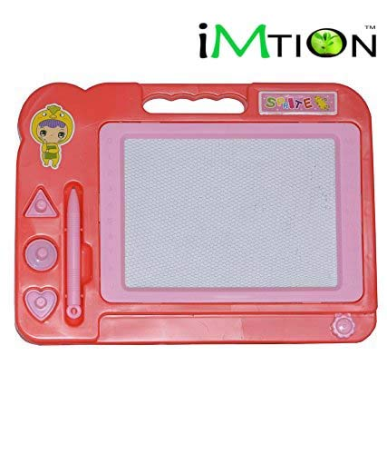 Imtion { Pack of 1 } Magic Slate Education Learning System Writing & Drawing Magic Slate for Kids [ Colour May Very ]