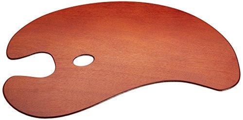 Loxley Deluxe - Paleta para pintor (50 x 35 cm, tamaño grande, madera)