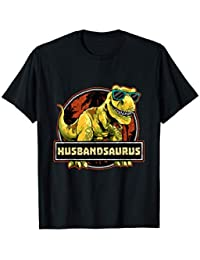 Husbandsaurus Shirt T rex Husband Saurus Dinosaur Mens Camiseta
