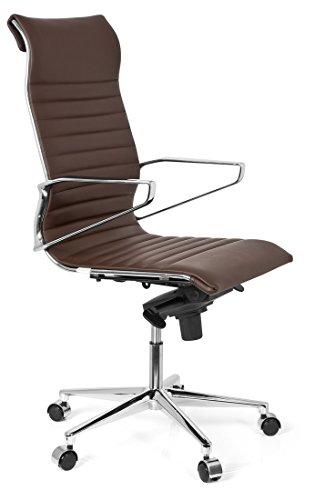 hjh office 720023 b rostuhl chefsessel pariba i echt leder. Black Bedroom Furniture Sets. Home Design Ideas
