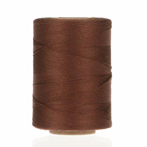 yli-corporation-v37-8890-star-fil-coton-mercerise-solides-marron-fonce