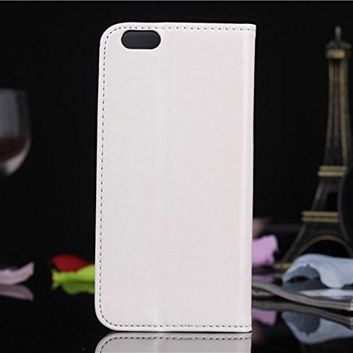 Case Cover Motif Wax Oil Grain PU PC Protector pour l'iPhone 6 rose