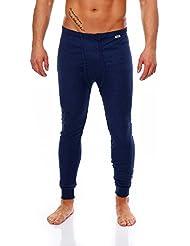 Herren Thermo Unterhosen Lang, gerippt, verschiedene Farben und Größen
