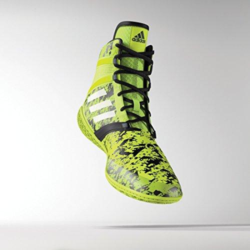 Adidas Impact Wrestling scarpe Solar Yellow/Silver/Black