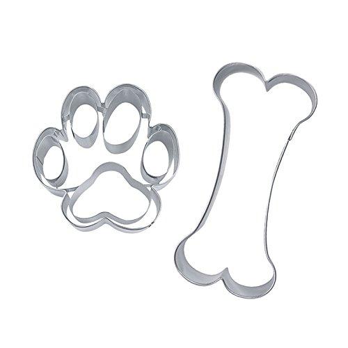 NEU Ausstechformen-Set, Hundesnack, 2-teilig