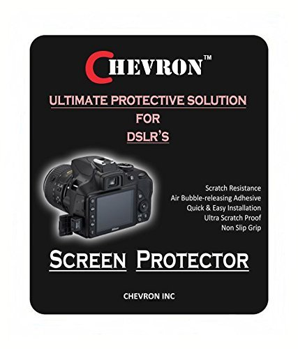 Chevron-Ultra-Clear-HD-Screen-Guard-For-Nikon-D3300-DSLR-Camera