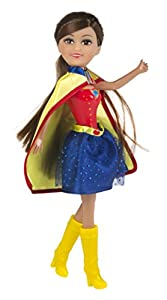 ColorBaby - Sparkle Power Girlz, muñeca de 27 cm y vestido, para niñas 3-5 años, color azul (85061)