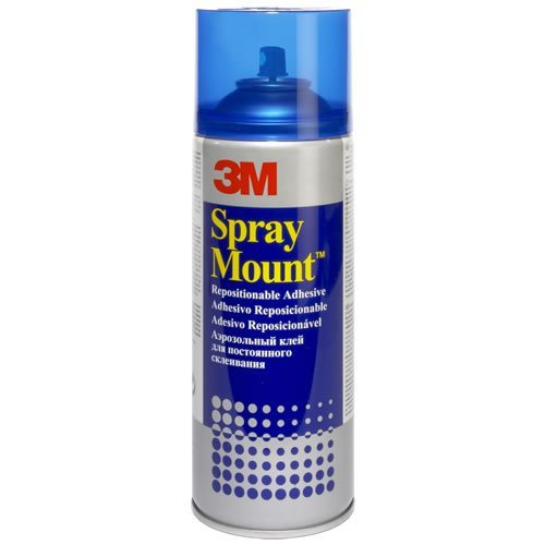 3M Spray Mount - Adhesivo Reposicionable, 200 ml