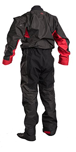 GUL 2018 Junior Dartmouth Eclip Zip Drysuit Black/Red GM0378-B3