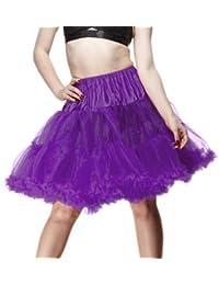 Hell Bunny Petticoat SWING SHORT purple/purple