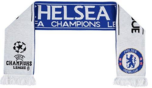 Original FC Chelsea Fan/bufanda nuevo UEFA Champions League UCL