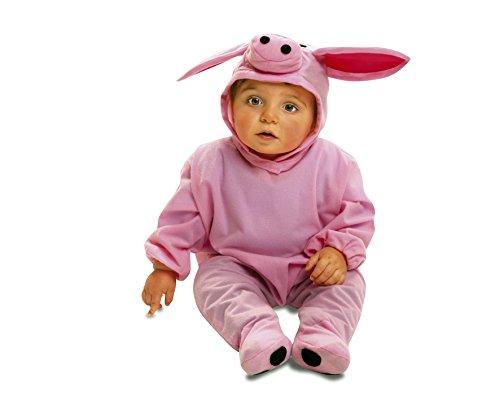 My Other Me Kostüm Schwein, Gr. 7–12Monate (viving Costumes mom01709) (Baby-schwein Halloween Kostüm)