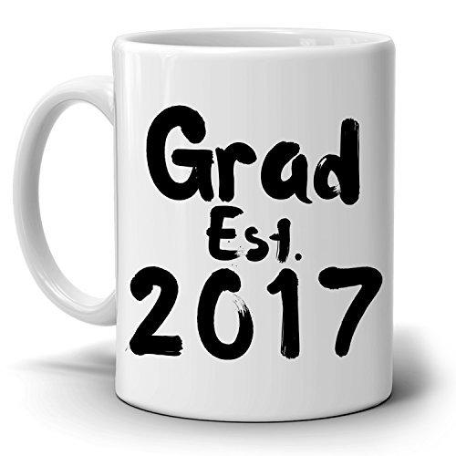Personalisierte. Grad Student Geschenke Tasse, Damen und Herren Absolvent College und High School Graduation, gedruckt auf beiden Seite.