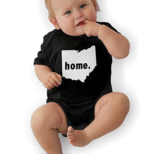 Ohio Home State Unisex Baby Short Sleeve Bodysuit-2T -
