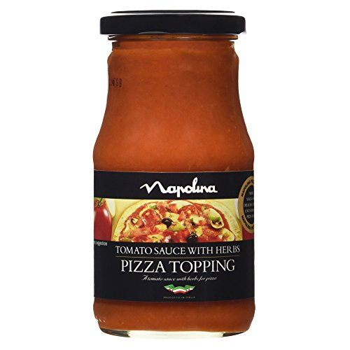 Napolina Tomato Sauce with Herbs Pizza Topping, 300g