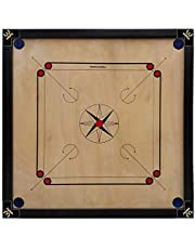Webby Wooden Carrom Board 26x26 Inches(Coins & Striker Not Included)