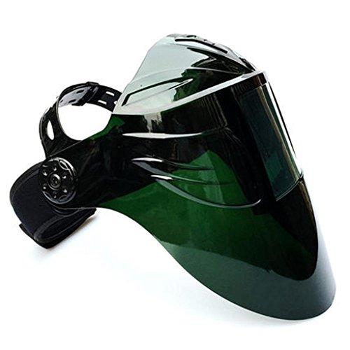 Black Oberflächenschirm Schweißen Maske PC Oberfläche Bildschirm Magic Stick Kopf mit Argon Lichtbogenschweißen zwei Schweißbrillen